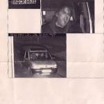 Polizeifoto wgn Geschwindigkeitsüberschreitung