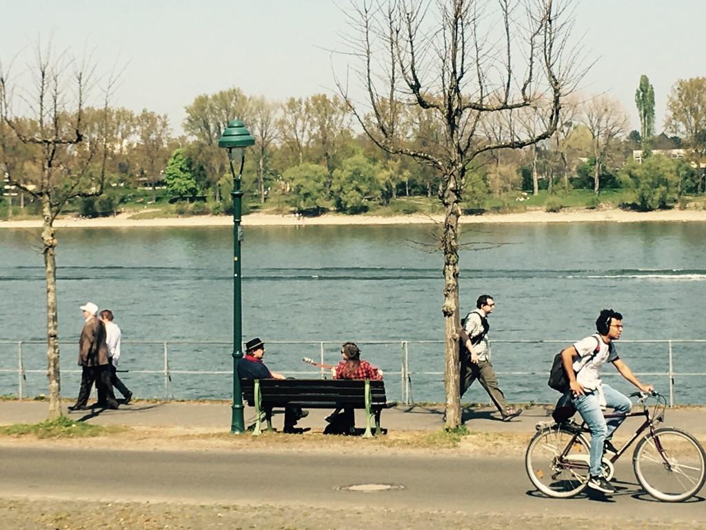 Arletta, Danny, Rhein (Foto: Karl Neukauf)