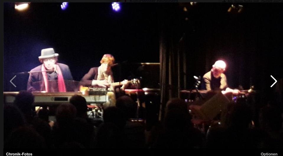 Unser schönes Trio live