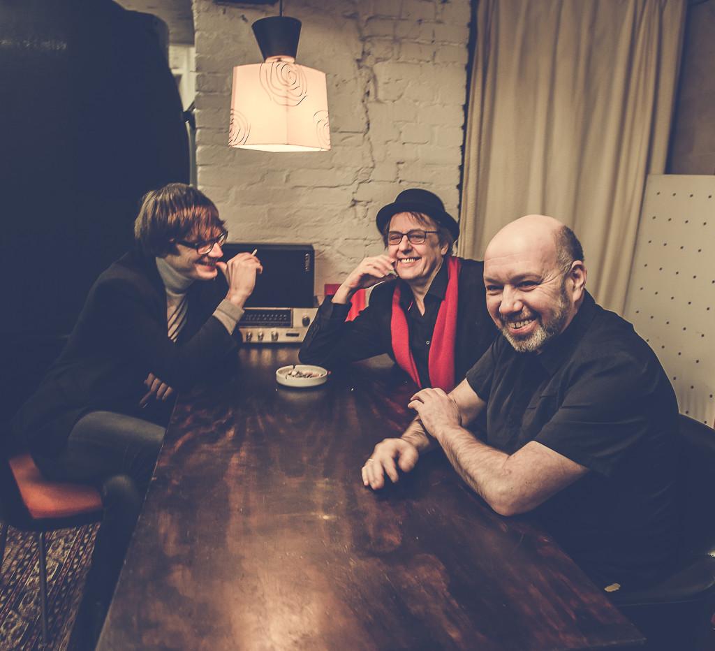 Unser schönes Trio (Foto: Max Schwarzlose)